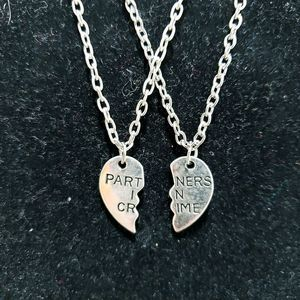 Jewelry - Best Friend Necklace Partners In Crime